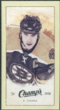 2009/10 Upper Deck Champ's Mini Green Backs #307 Zdeno Chara