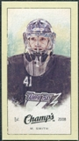 2009/10 Upper Deck Champ's Mini Green Backs #310 Mike Smith