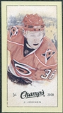 2009/10 Upper Deck Champ's Mini Green Backs #312 Jussi Jokinen