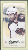 2009/10 Upper Deck Champ's Mini Green Backs #313 Brent Burns