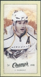2009/10 Upper Deck Champ's Mini Green Backs #316 J.P. Dumont