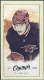 2009/10 Upper Deck Champ's Mini Green Backs #325 Peter Mueller