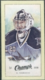 2009/10 Upper Deck Champ's Mini Green Backs #327 Evgeni Nabokov
