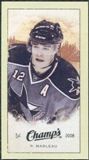 2009/10 Upper Deck Champ's Mini Green Backs #330 Patrick Marleau