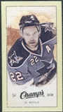 2009/10 Upper Deck Champ's Mini Green Backs #332 Dan Boyle