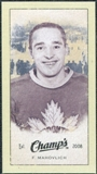 2009/10 Upper Deck Champ's Mini Green Backs #334 Frank Mahovlich