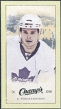 2009/10 Upper Deck Champ's Mini Green Backs #338 Alexei Ponikarovsky