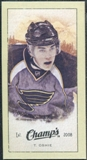 2009/10 Upper Deck Champ's Mini Green Backs #341 T.J. Oshie