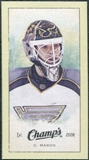 2009/10 Upper Deck Champ's Mini Green Backs #342 Chris Mason