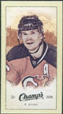 2009/10 Upper Deck Champ's Mini Green Backs #352 Patrik Elias