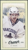 2009/10 Upper Deck Champ's Mini Green Backs #359 Daniel Sedin