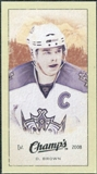 2009/10 Upper Deck Champ's Mini Green Backs #364 Dustin Brown