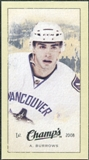 2009/10 Upper Deck Champ's Mini Green Backs #368 Alexandre Burrows