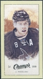 2009/10 Upper Deck Champ's Mini Green Backs #370 Joe Pavelski