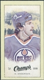 2009/10 Upper Deck Champ's Mini Green Backs #379 Glenn Anderson