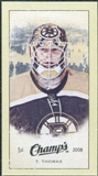 2009/10 Upper Deck Champ's Mini Green Backs #383 Tim Thomas