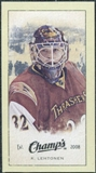 2009/10 Upper Deck Champ's Mini Green Backs #385 Kari Lehtonen