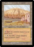 Magic the Gathering Mercadian Masques Single Dust Bowl MODERATE PLAY (VG/EX)