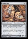 Magic the Gathering Mirrodin Single Duplicant MODERATE PLAY (VG/EX)