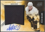 2011/12 Panini Prime #25 Peter Holland Prime Time Rookie Jersey Auto #40/50