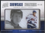 2011/12 Panini Prime #18 Jake Gardiner Showcase Swatches Jersey #25/25