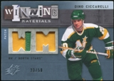 2009/10 Upper Deck SPx Winning Materials Spectrum Patches #WMDC Dino Ciccarelli /50