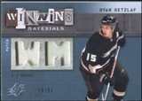 2009/10 Upper Deck SPx Winning Materials Spectrum Patches #WMRG Ryan Getzlaf /50