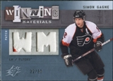 2009/10 Upper Deck SPx Winning Materials Spectrum Patches #WMSG Simon Gagne /50