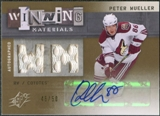 2009/10 Upper Deck SPx Winning Materials Autographs #AWMPM Peter Mueller Autograph /50