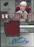 2009/10 Upper Deck SPx #167 Ryan O'Reilly RC Jersey Autograph /799