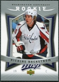 2007/08 Upper Deck MVP #358 Nicklas Backstrom RC