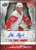 2008/09 Upper Deck Artifacts Autofacts #AFDC Dan Cleary Autograph