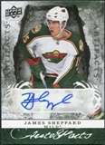 2008/09 Upper Deck Artifacts Autofacts #AFSH James Sheppard Autograph