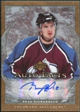 2007/08 Upper Deck Artifacts Autofacts #AFBR Brad Richardson Autograph