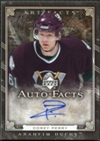 2006/07 Upper Deck Artifacts Autofacts #AFCP Corey Perry Autograph