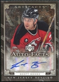 2006/07 Upper Deck Artifacts Autofacts #AFSG Scott Gomez Autograph