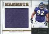 2011 Panini Playbook Mammoth Materials #8 Haloti Ngata /99