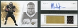 2011 Panini Playbook #125 Mark Ingram RC Jersey Autograph /299