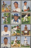 1950 Bowman Baseball Starter Set (87 Different) EX