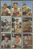 1953 Bowman Color Baseball Starter Set (49 Different) EX