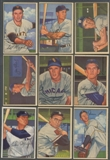 1952 Bowman Baseball Starter Set (83 Different) EX