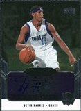 2004/05 Upper Deck Black Diamond GemoGRAPHy #DE Devin Harris Autograph