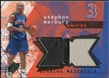 2004/05 Upper Deck SPx Winning Materials #ST Stephon Marbury