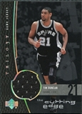 2004/05 Upper Deck Trilogy The Cutting Edge #TD Tim Duncan