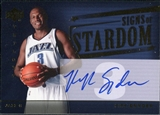 2004/05 Upper Deck Trilogy Signs of Stardom #KS Kirk Snyder Autograph