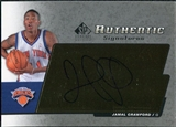2004/05 Upper Deck SP Signature Edition Signatures #CR Jamal Crawford SP Autograph