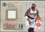 2005/06 Upper Deck Rookie Debut Threads #NV Nick Van Exel
