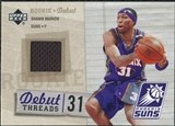2005/06 Upper Deck Rookie Debut Threads #SM Shawn Marion