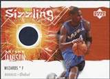 2005/06 Upper Deck Rookie Debut Sizzling Swatches #AJ Antawn Jamison