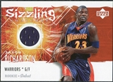 2005/06 Upper Deck Rookie Debut Sizzling Swatches #JA Jason Richardson
